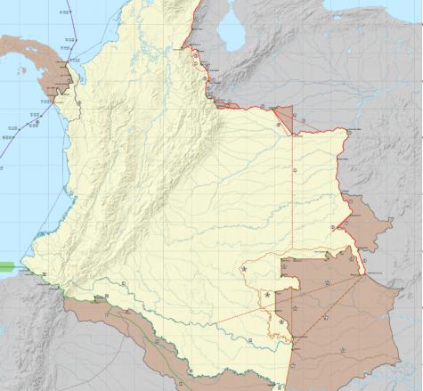 POR CUALES PAÍSES SE PUEDE INGRESAR A COLOMBIA POR CARRETERA.