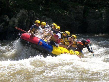 San Gil- Rafting.