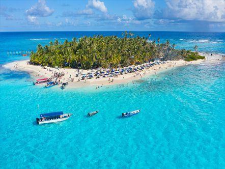 Isla johnny cay