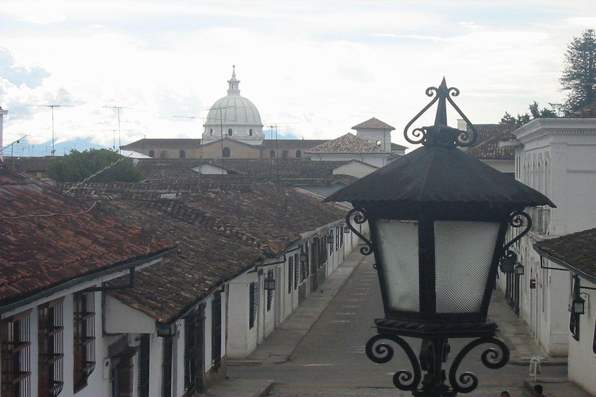 centro historico popayan